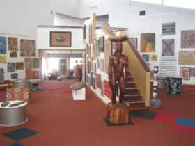 Entering the Gallery from the foyer