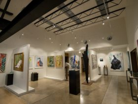 Wide shot of Gallery from This is now exxhibition