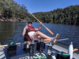Canoes, Cool Climate Wines & Canapés