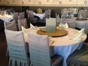 China Tea Club table
