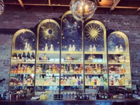 Decorative bar wall