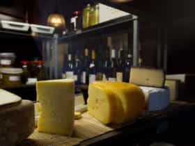 The cheese room at Silo in Kingston