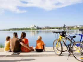 Bike hire for the whole family