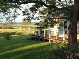 View from Balmoral Cottage over Balmoral Property