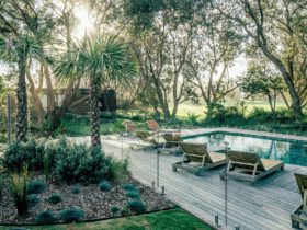 Heated Pool and Landscaped Gardens