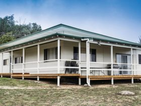Exterior view of Lavender Vale Homestead, Kwiambal National Park. Photo: Simone Cottrell/OEH