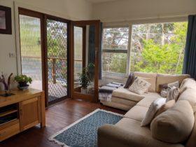 Bright spacious lounge room
