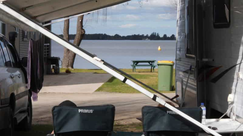 Powered site, Yarrawonga Mulwala, Lake Mulwala, Ski Club, fishing, family, holiday