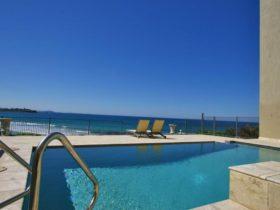 pool inside accommodation overlooking ocean