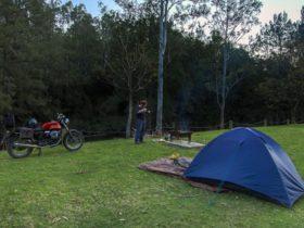 Woko campground, Woko National Park. Photo: John Spencer/NSW Government