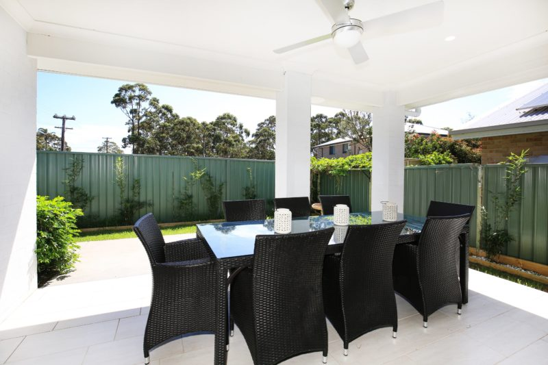 Patio with Outdoor Dining Area