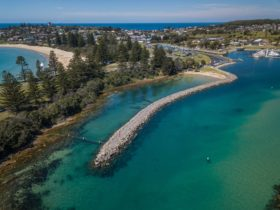 Bruce Steer Pool, Bermagui, swimming, netted pool, beach, Sapphire Coast, family friendly