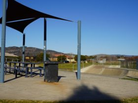 Picnic Tables at the Bungendore Skate Park