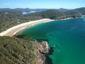 Elizabeth Beach in Booti Booti National Park. Part of Pacific Palms and the Barrington Coast
