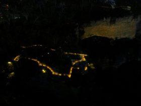 Katoomba Falls Reserve Night-lit Walk