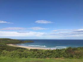 Overlooking killalea beach