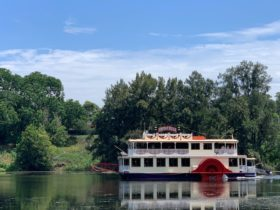 Nepean Belle Cruising Along the Nepean River