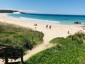 One Mile Beach at Forster