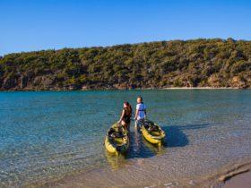 Pambula river mouth, sapphire coast