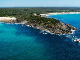 Saltwater Point with Saltwater Beach and Wallabi Point Beach