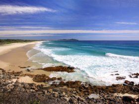 Seven Mile Beach at Forster
