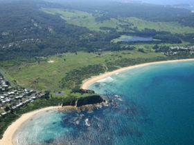 Aerial Tomakin Cove