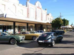 A mecca for car clubs and history buffs