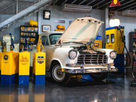 Their unique collection of vehicles and memorabilia tells stories of life at home and on the road.