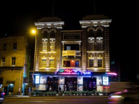 Exterior view of the Landsdowne Hotel, Chippendale