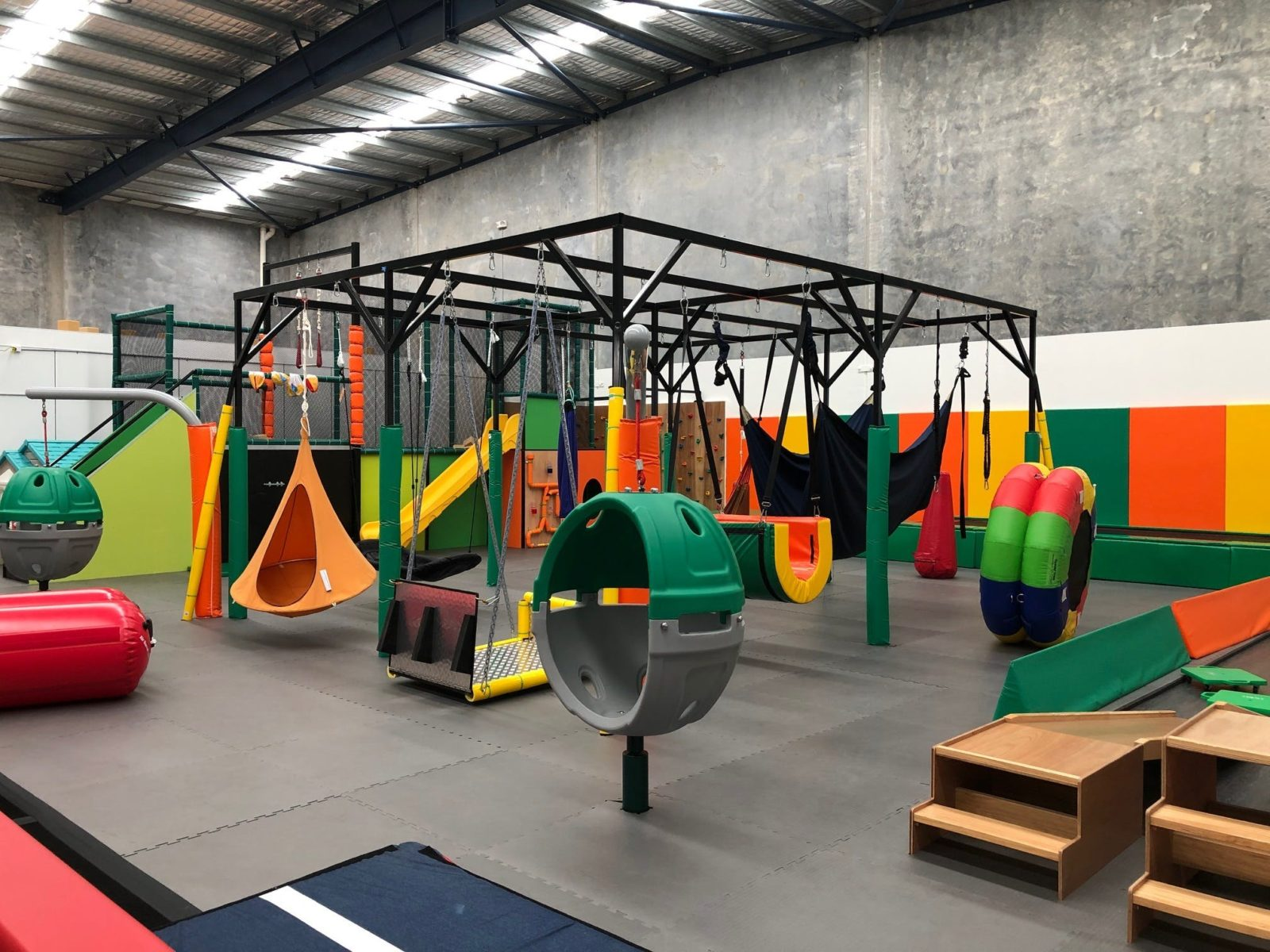 Main play area at The Shine Shed in Campbelltown