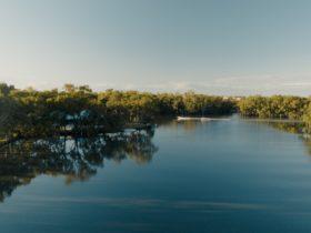 Picturesque view of Urana Aquatic Centre