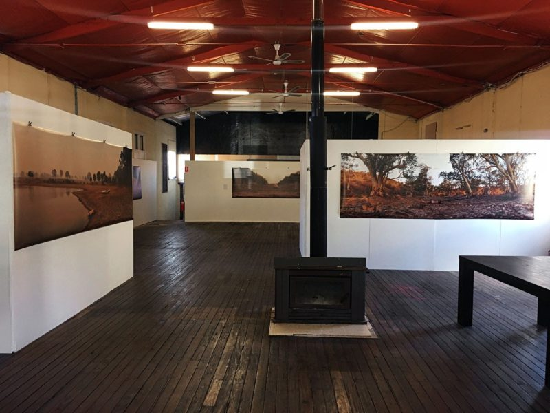 Gus Armstrong's Unquestionably Dry exhibition