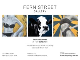 Solo exhibition by Carmel McCarney