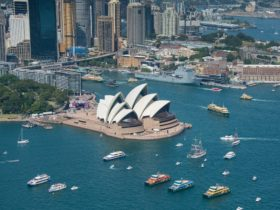 Ferrython Race on Sydney Harbour on Australia Day