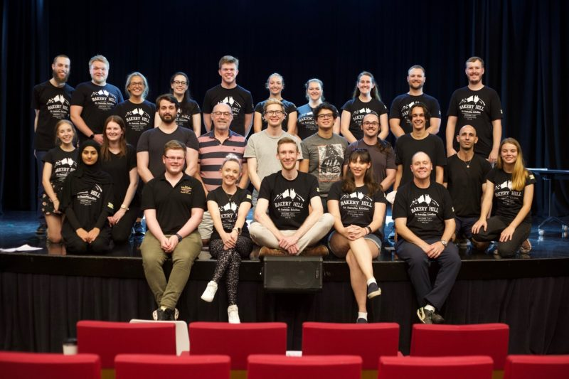 Creative Team and Cast of Bakery Hill - An Australian Rebellion