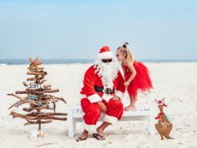 Byron Bay Santa on the Beach