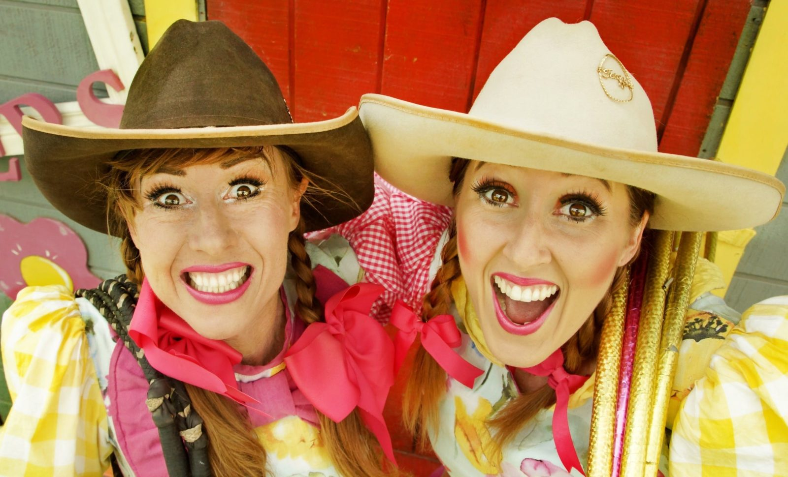 The Crackup Sisters are part of a fun lineup of entertainment at Young Show this year.