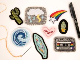 Learn the skills to get creative with embroidery