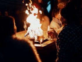 Beer Fire Festival Friends