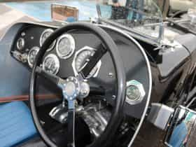 Interior of historic car