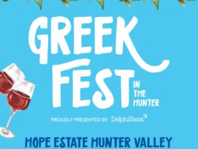 Greek Fest in the Hunter at Hope Estate