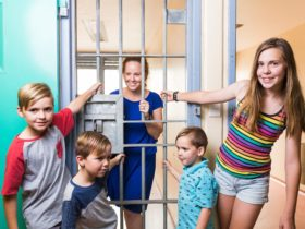 Maitland Gaol kids lock up mum