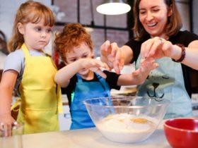 Kids cooking at MCSL