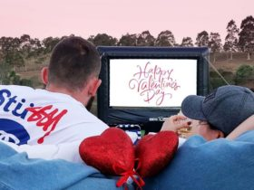 Lovers by Lakeside Outdoor Movie Night
