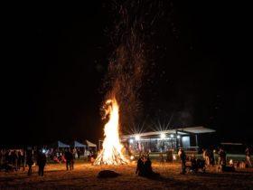 Winter Wine fire
