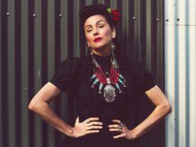 Rockabilly singer Rachael Brady