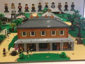 Rouse Hill House & Farm in LEGO