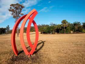 2018 Sculpture on site