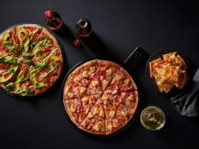 Crust Pizza pizzas, sides and drinks