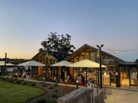 Jervis Bay Pavilion at dusk